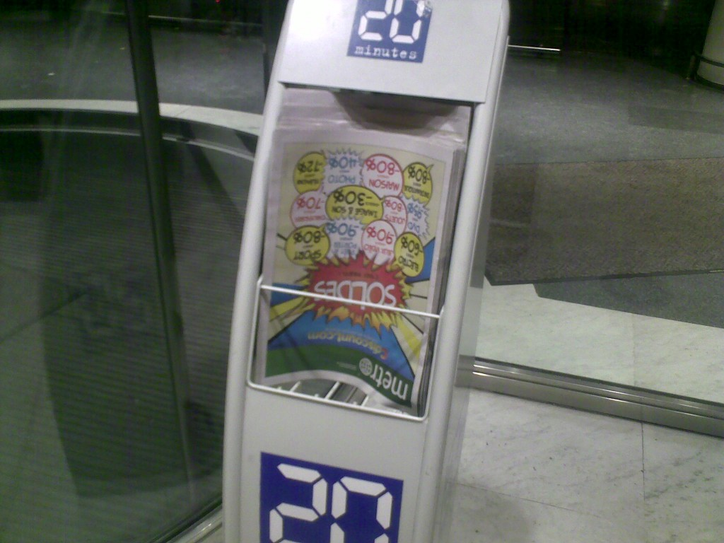 Metro 20 Minutes Pariscomlight-