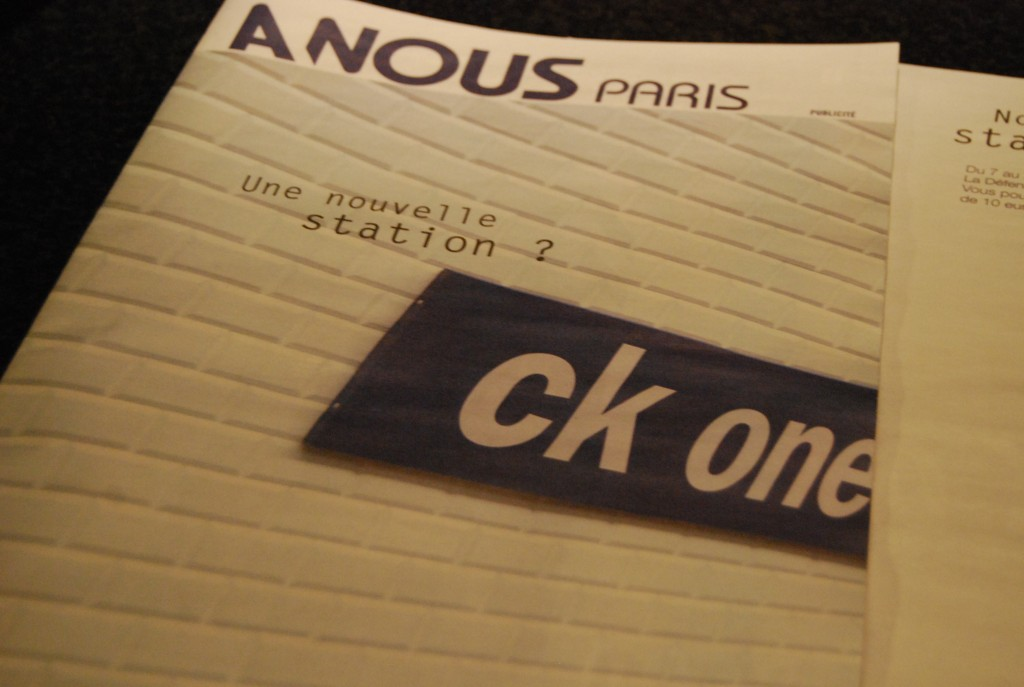 pariscomlight CK one