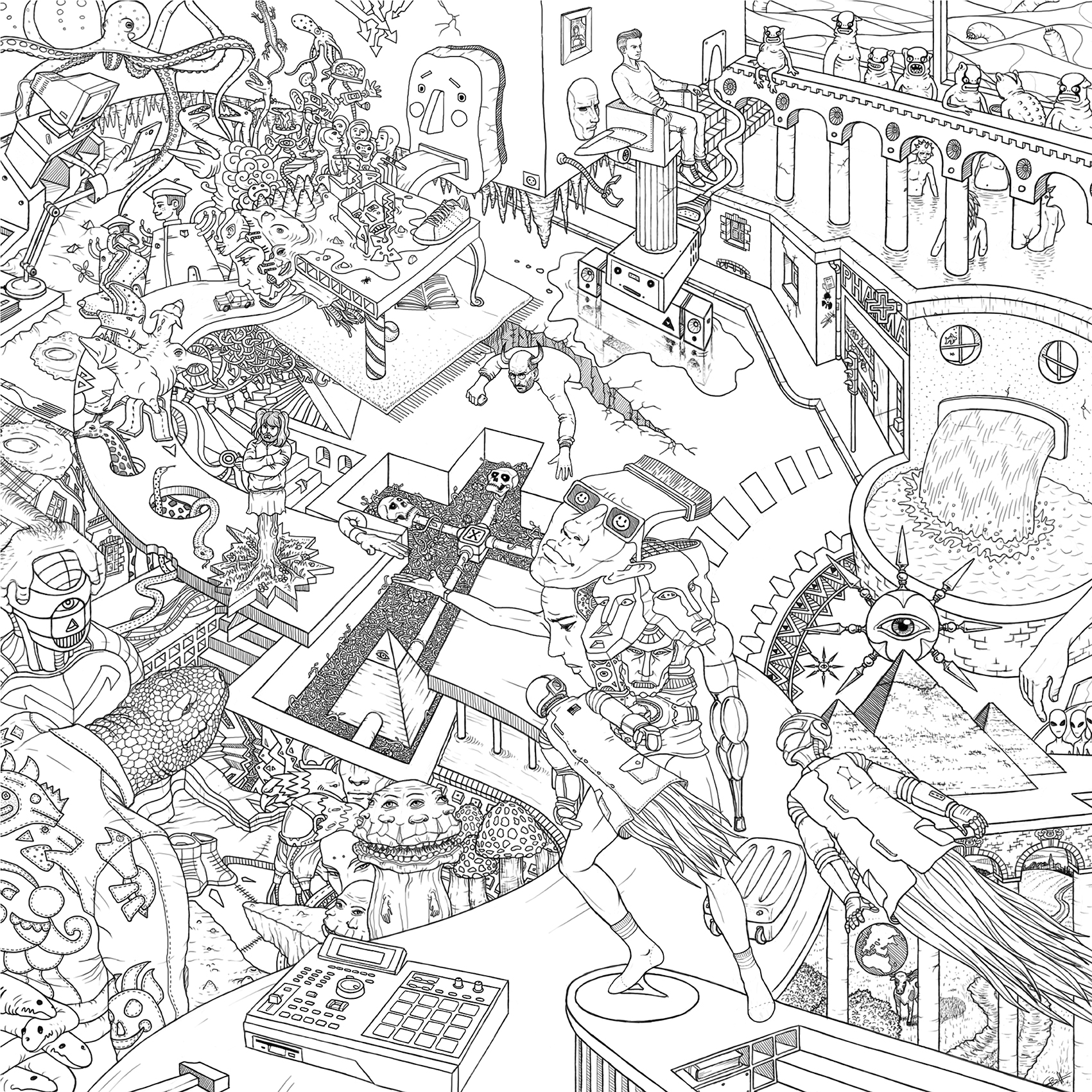 """Composition Illustrée """"Focus 21"""" Par Geoffroy1er"""